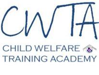 Child Welfare Training Academy logo